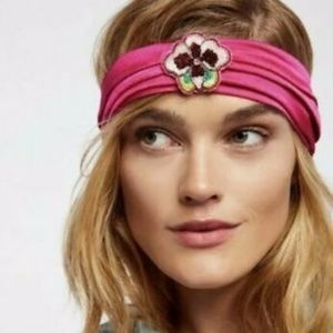 Free People X Namrata Joshipura headband Pink New